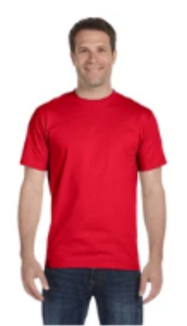 Shirt Colors - Athletic Red