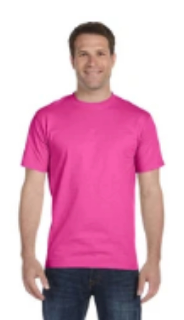 Shirt Colors - Wow Pink